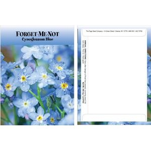 Standard Series Forget Me Not Seed Packet - Digital Print/Packet Back Imprint