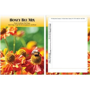 Standard Series Honey Bee Seed Mix-Digital Print on Back of Packet