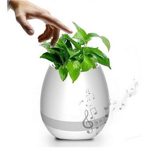 Smart Touch Plant Piano Music Flowerpot Bluetooth Speaker